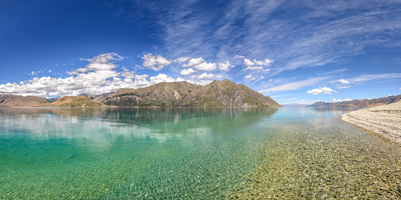 Lake Hawea reflection