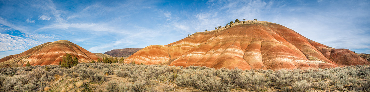 Painted hills afternoon