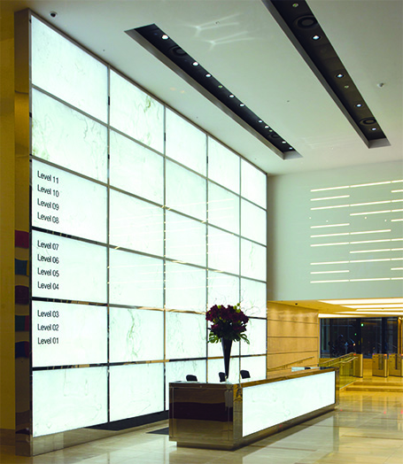 Led Wall Light Feature: Feature Wall